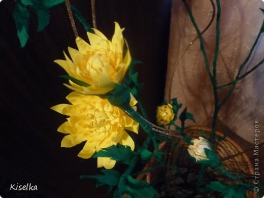 Букет хризантем фото 3