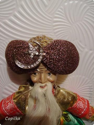 Вот в таком состоянии принесли мне старую-престарую куклу Хоттабыча!Размер её -30 см. фото 6