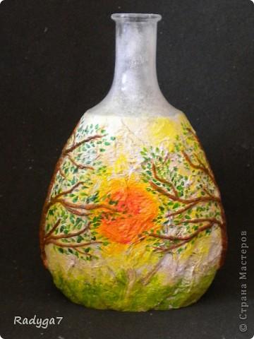 Это одно из сторон бутылочки-вазочки. фото 1
