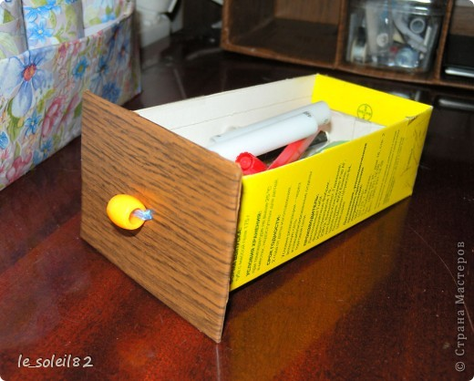 Почти год назад сделала такой вот шкаф для всякой мелочи.  фото 4
