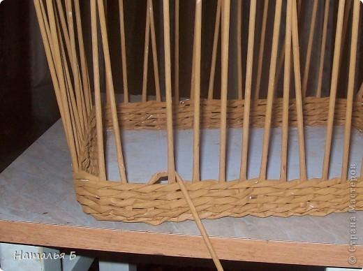 """Эту кромку я нашла в книге """"Плетение"""" Б. Мейнард 1981 г. выпуска (плетение из лозы), попробовала на коробочке для дочки, понравилось. Хочу поделиться. фото 2"""