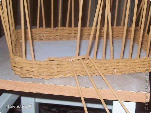 """Эту кромку я нашла в книге """"Плетение"""" Б. Мейнард 1981 г. выпуска (плетение из лозы), попробовала на коробочке для дочки, понравилось. Хочу поделиться. фото 5"""