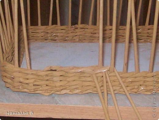 """Эту кромку я нашла в книге """"Плетение"""" Б. Мейнард 1981 г. выпуска (плетение из лозы), попробовала на коробочке для дочки, понравилось. Хочу поделиться. фото 7"""