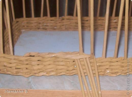 """Эту кромку я нашла в книге """"Плетение"""" Б. Мейнард 1981 г. выпуска (плетение из лозы), попробовала на коробочке для дочки, понравилось. Хочу поделиться. фото 9"""