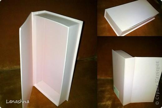 старая, но симпотичная коробочка от подарочного набора, которой я не находила приминения... фото 1