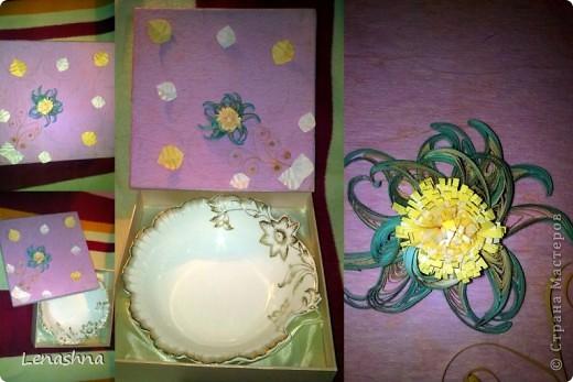 старая, но симпотичная коробочка от подарочного набора, которой я не находила приминения... фото 4