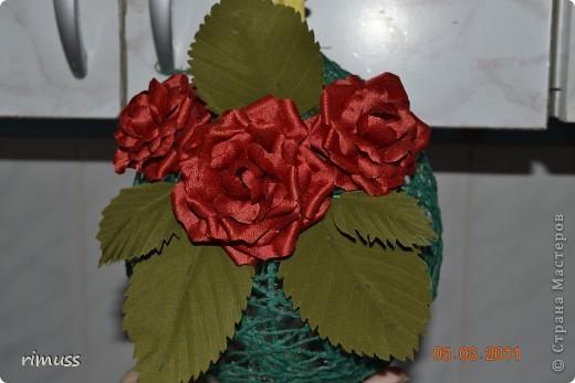 это цветы из нажелатиненой ткани,делала для знакомой, толи в прическу пойдут на какую-нибудь заколку, толи просто так останутся фото 1