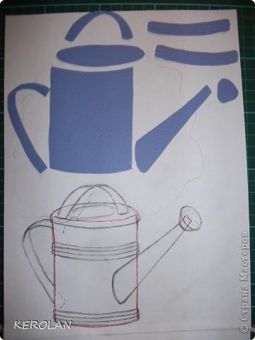 Хочу предложить вам небольшой мастер класс как делать предметы в бумагопластике. Конечно это не для слабонервных, потому что пальцы руки в первый раз будут болеть от напряжения. Но если вы не ленивы то у вас все получится. фото 8
