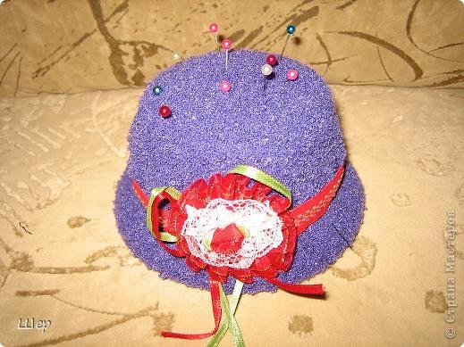 1. Игольница в виде шляпки фото 2
