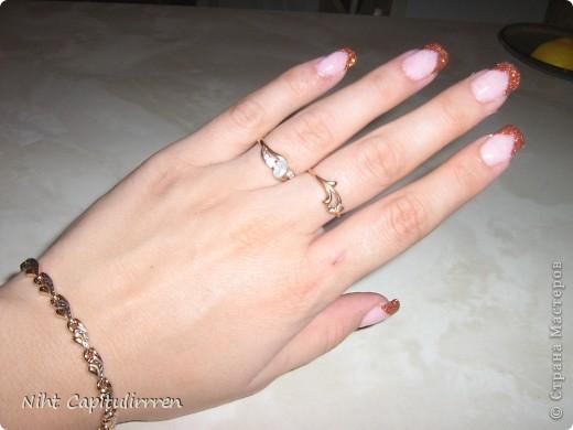 Примерно так сама себе и наращиваю ногти! фото 1