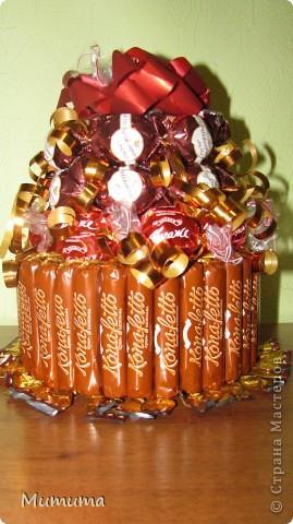 Шоколадный тортик на день рождения)