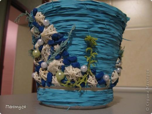 Если комнатные растения не всегда цветут, так пускай хоть горшочки у них будут красивые:) фото 5