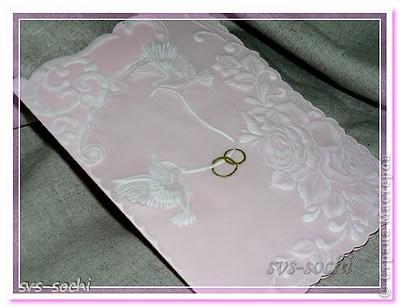 Свадебная открытка пергамано фото 1