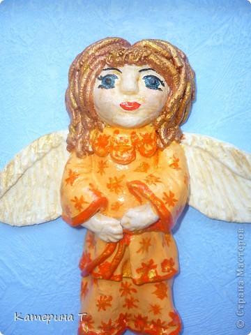 мой первый ангел, на нем пробовала все что можно и как придется, а это результат.  фото 2