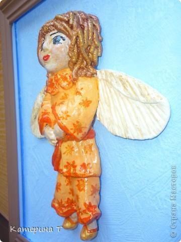 мой первый ангел, на нем пробовала все что можно и как придется, а это результат.  фото 3