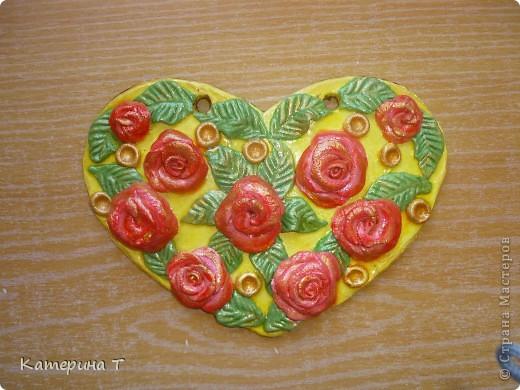 """Расцвели розы на сердце. (у кого-то """"слизала"""") фото 1"""