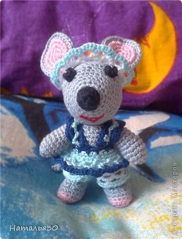 Мышь Сонька. Вдохновили всякие зайчики, мишки, мышки и др. игрушки, увиденные мною на просторах интернета. фото 1