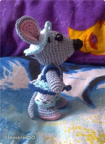 Мышь Сонька. Вдохновили всякие зайчики, мишки, мышки и др. игрушки, увиденные мною на просторах интернета. фото 4