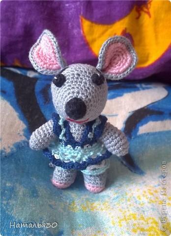 Мышь Сонька. Вдохновили всякие зайчики, мишки, мышки и др. игрушки, увиденные мною на просторах интернета. фото 2