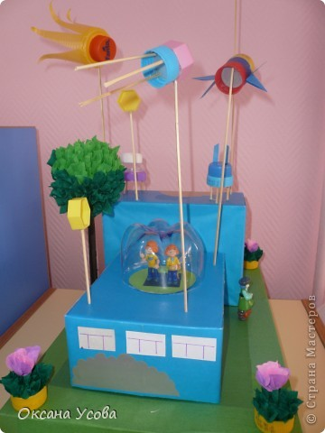 Проект детского сада будущего ко дню космонавтики для занятия.  фото 1