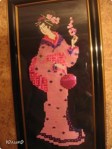 """Здравствуйте. Представляю Вам работы моей родственницы из соломы и лент для цветов. Работы выполнены в технике """"Мозаика"""". Это все вместе фото 5"""