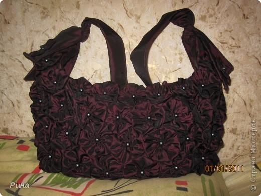 Вот такая вот сумочка у меня появилась!!!