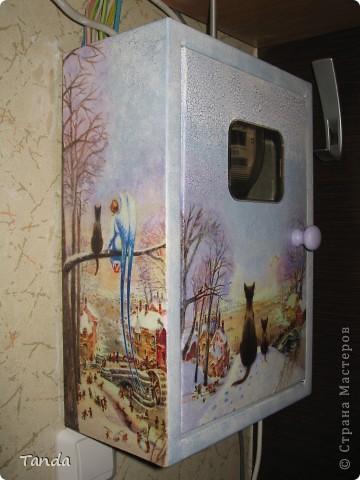 Вот таким стал серый ящик, после того как я приложила к нему руки... фото 3