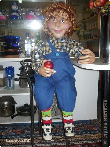 Вот такой Карлсон живёт в нашем доме.  фото 2