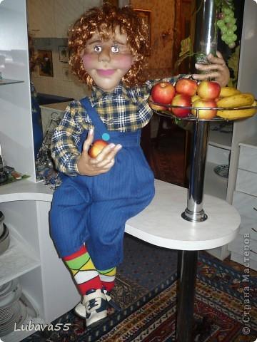 Вот такой Карлсон живёт в нашем доме.  фото 3