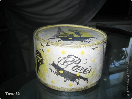 Коробка от конфет превратилась в шкатулку... фото 1