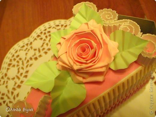 Вот такие тортики мы приготовили на 8 марта на первом занятии! Это тортики - коробочки для подарка. Спасибо Стране за МК!!! фото 4