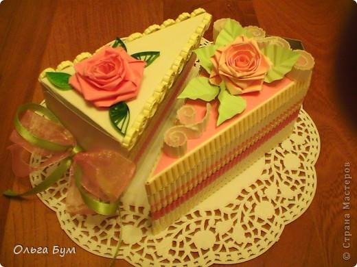 Вот такие тортики мы приготовили на 8 марта на первом занятии! Это тортики - коробочки для подарка. Спасибо Стране за МК!!! фото 1