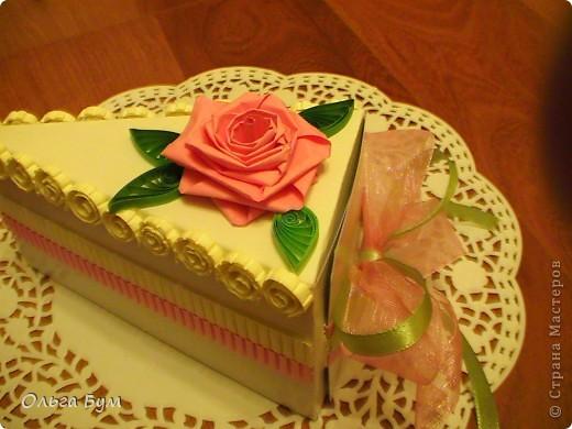 Вот такие тортики мы приготовили на 8 марта на первом занятии! Это тортики - коробочки для подарка. Спасибо Стране за МК!!! фото 2