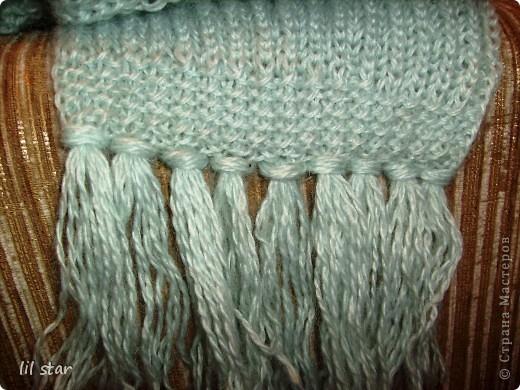 Мой первый шарфик. фото 2