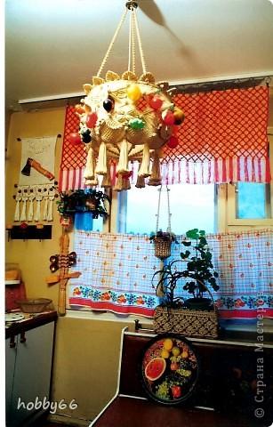 Украсила кухню...  Макраме. фото 1