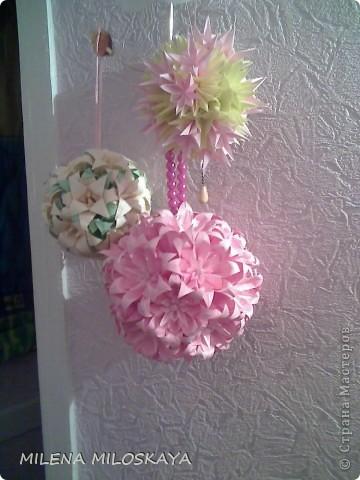 Разноцветные лилии. Сделаны на основе ириса , середины к лилии и чашелистника. фото 2