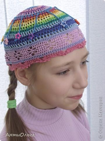 Вязаные шапочки фото 5