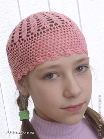 Вязаные шапочки фото 7
