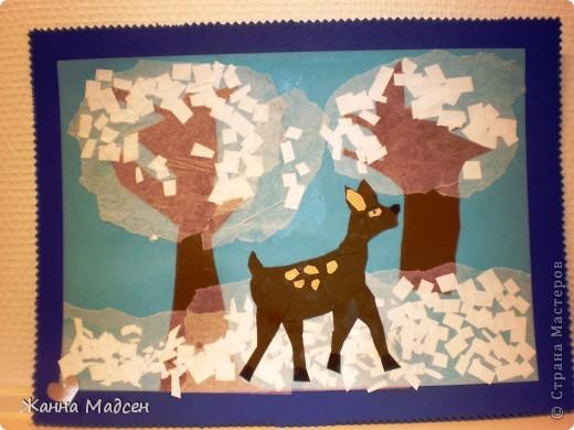 Идею позаимствовала у Зои. Работа детишек 5-6 лет. фото 6