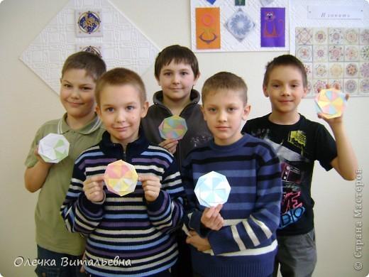 """Здравствуйте! Разрешите представить вам  одно из занятий  кружка """"Оригами"""". Сегодня идет распределение по группам. Ребята очень стараются.  фото 4"""