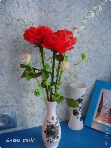 весеннее настроение навеяло создание маленького букетика))) фото 1
