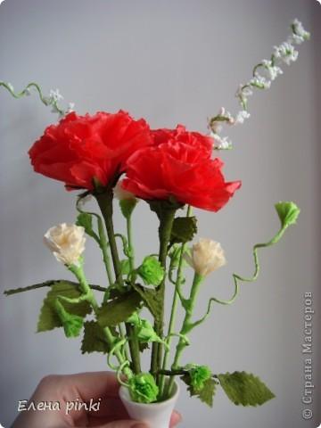 весеннее настроение навеяло создание маленького букетика))) фото 2