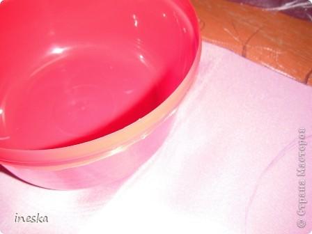 Мастер-класс Поделка изделие 8 марта Валентинов день День матери День рождения Шитьё Мои шкатулки из пластиковой посуды  Розовая нежность  фото 7