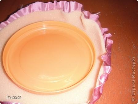 Мастер-класс Поделка изделие 8 марта Валентинов день День матери День рождения Шитьё Мои шкатулки из пластиковой посуды  Розовая нежность  фото 12