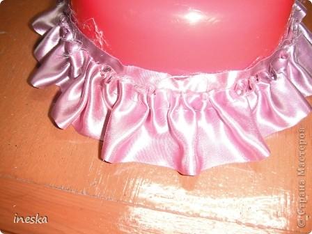 Мастер-класс Поделка изделие 8 марта Валентинов день День матери День рождения Шитьё Мои шкатулки из пластиковой посуды  Розовая нежность  фото 17