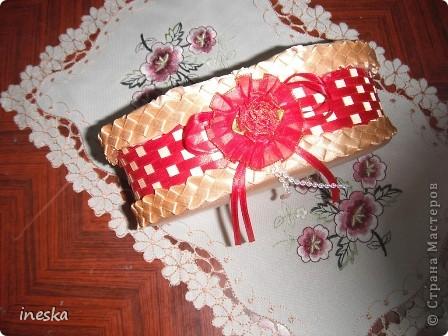 Мастер-класс Поделка изделие 8 марта Валентинов день День матери День рождения Шитьё Мои шкатулки из пластиковой посуды  Розовая нежность  фото 31