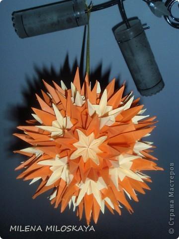 Разноцветные лилии. Сделаны на основе ириса , середины к лилии и чашелистника. фото 4