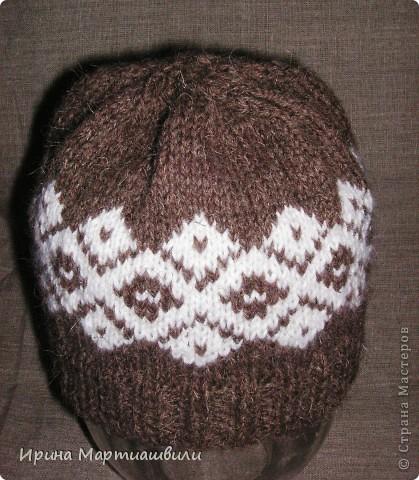 Вязанные шапочки фото 2