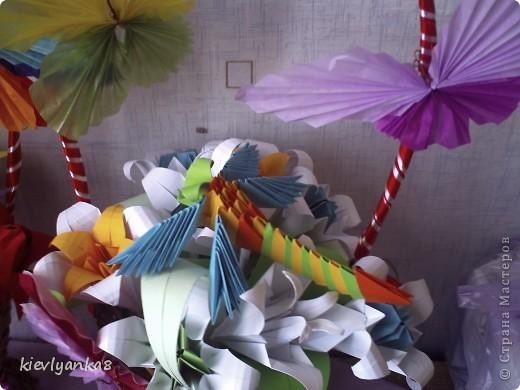 Цветы, стрекоза, бабочки фото 2