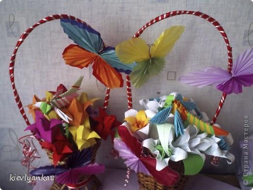 Цветы, стрекоза, бабочки фото 3